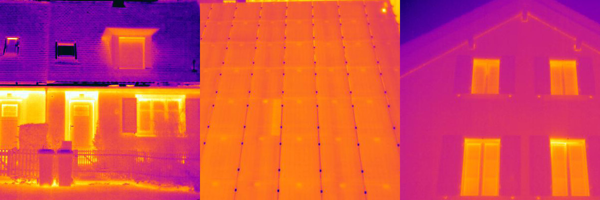 Wärmebildaufnahmen - Thermografie mit einer Wärmebildkamera