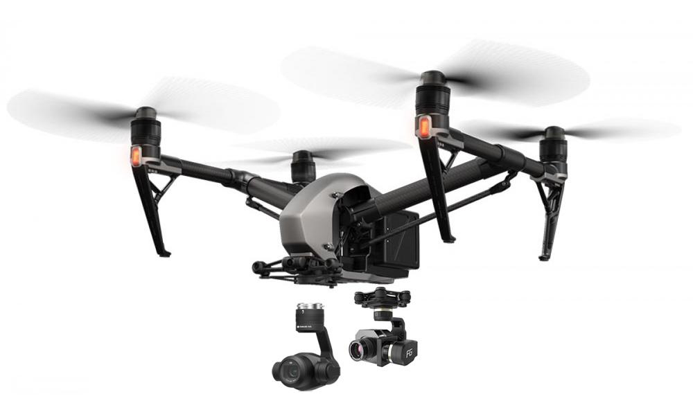 Diese Drohne kann mit einer hochauflösenden Wärmebildkamera (640 x 480 Pixel) ausgerüstet werden.