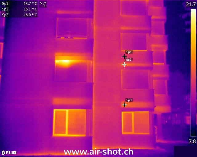 Wärmebilder - Thermografie mit einer Wärmebildkamera