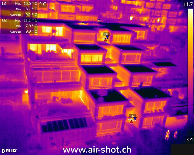 Wärmebild mit Drohne